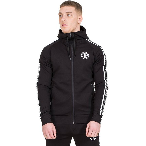 2019 gym European and American Men's Sports Jacket Fitness Apparel Pure Cotton Running Zipper for Leisure and Comfort