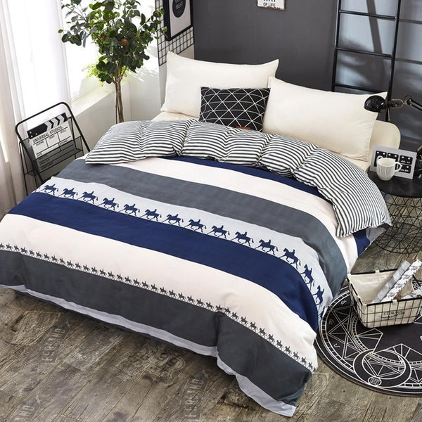 Aloe Cotton Bedding Set 1 Pcs duvet cover set quilt cover/comforter cover size 150*200/180*220/200*230/220*240 free shipping