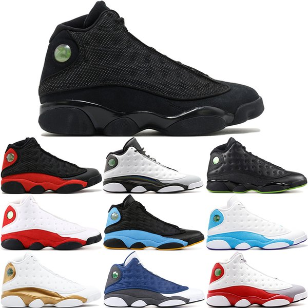 13s 13 Men Basketball Shoes Olive Playoff Ray Allen Wheat Unc Infrared 23 Hyper Royal Bred History Of Flight Sports Sneakers 8-13