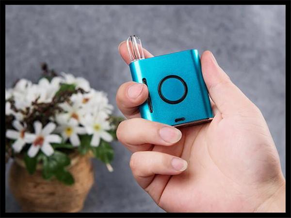 Dank vape kartuş kutusu mod ön ısıtma vv buharlaştırıcı e sigara mini kutusu pil mod ön ısıtma fonksiyonu değişken voltaj sigara vape mod kiti