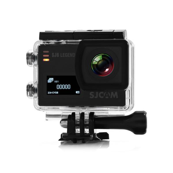 Chipset de la pantalla dual NTK96660 de la cámara de los deportes de la acción de 4K WiFi 166 grados FOV para la prenda impermeable al aire libre Cmos 1080P