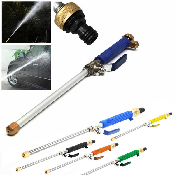 top popular Car High Pressure Power Water Gun Jet Garden Washer Hose Wand Nozzle Sprayer Watering Spray Sprinkler Cleaning Tool LJJZ310 2019