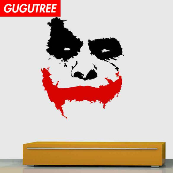 Decorate Home clown cartoon art wall sticker decoration Decals mural painting Removable Decor Wallpaper G-2083