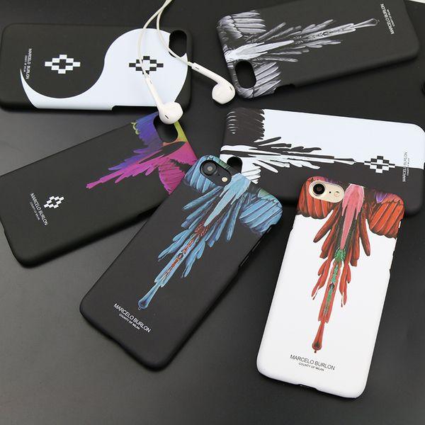 Custodia rigida protettiva per telefono cellulare di Burlon Animal Wing Snake per Iphone X Xr Xs Max 8 7 6 6s Plus Cover per Fodera per Iphone Xr Xs