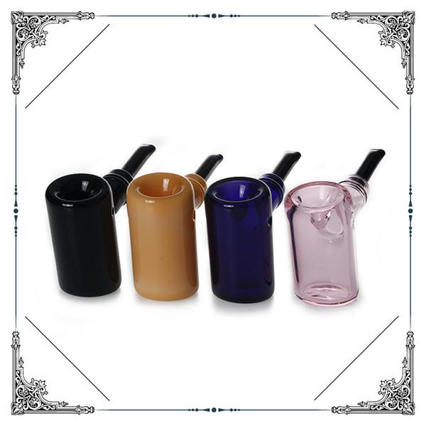 6 pulgadas de espesor martillo de vidrio pipas de tabaco tubo de mano embriagadora fumando bolsillo mezcla de color de alta calidad envío gratis