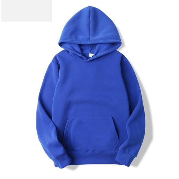 Mens Pull-over New Hoody Streets Esportes Homens Moda Pure-Clolrs Pullover Camisola Tamanho S-3XL 12 Cores