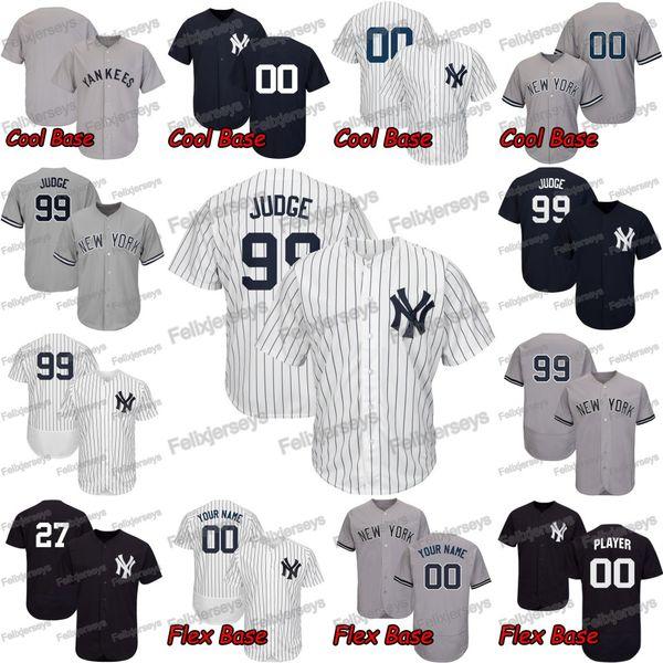 Aaron Judge New York Gleyber Torres Luke Voit DJ LeMahieu Brett Gardner Yankees Clint Frazier Gary Sanchez Masahiro Tanaka J.A. Happ Jersey