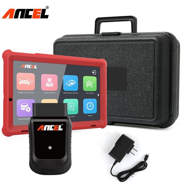 Ancel X5 Plus OBD2 Diagnostic Tool WiFi OBD Full Systems Professional Automotive Scanner EPB DPF ABS Airbag Oil Light Scan