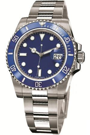 luxury mens classic watch sub 116619lb series ceramic bezel blue 40mm dial automatic mechanical sapphire adjust clasp men master wristwatch