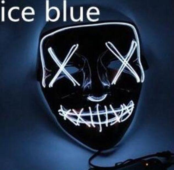 Eis-blau