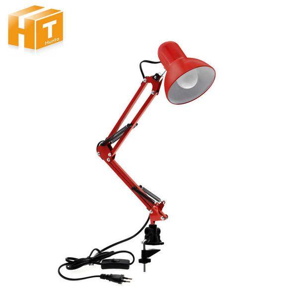 Flexible Led Desk Home Office Modern Table Lamp Metal Architect Adjustable Folding Reading Light Q190601
