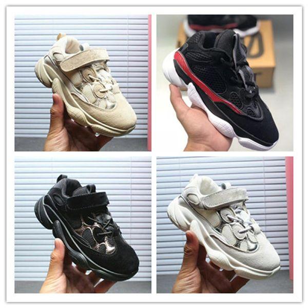 Adidas yeezy supreme 500 2019 Zapatos para niños Wave Runner 500 Kanye West Zapatos para correr Niños Niñas Entrenador Sneaker 500 Calzado deportivo Niños Calzado deportivo