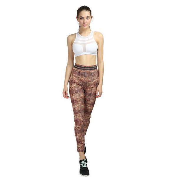 Wholesale Women's Clothing Digital Printing Jeggins High Waist Gothic Trousers Sexy Push Up Knit Workout Leggings Female Casual Leggings