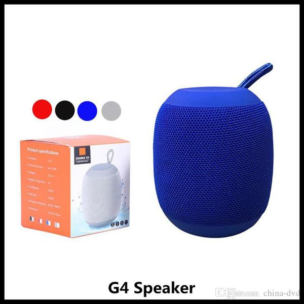 Altoparlante per esterno senza fili portatile Bluetooth G4 Altoparlanti per esterni Batteria ricaricabile Micro-SD TF Card con porta per microfono da 3,5 mm per telefono cellulare