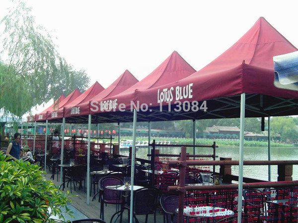 FREE SHIPPING Professional Aluminum 3m x 3m Outdoor Pop Up Gazebo / Folding Tent / Party Canopy Marquee For Outdoor Events