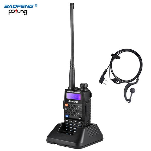 Baofeng UV-5RC Walkie Talkie Doppio Banda Ham Ham VHF Ricetrasmettitore stazione UHF Boafeng Communicator Walkie-Talkie Handheld