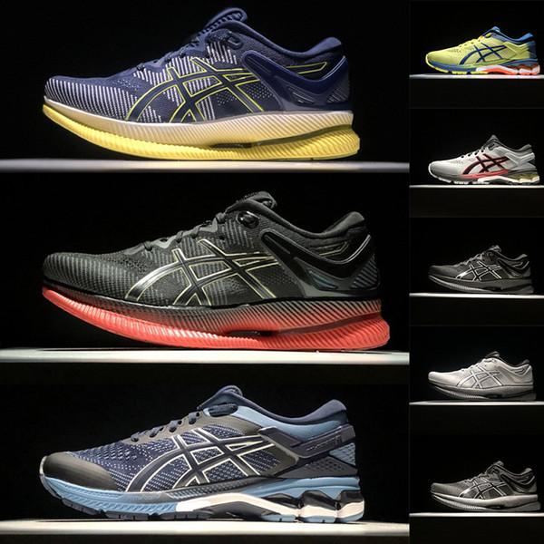 Gel Kayano 26 METARIDE Tênis de Corrida Preto Vermelho Cinza Mens Designer de Luxo Formadores Utilitário Velocidade Esportes Sapatos 2019 Homem Tênis chaussures
