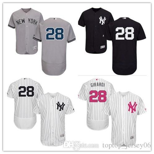 half off 6ae2b 082aa 2019 2018 New York Yankees Jerseys #28 Joe Girardi Jerseys  Men#WOMEN#YOUTH#Men'S Baseball Jersey Majestic Stitched Professional  Sportswear From ...