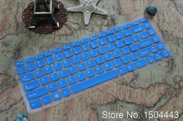 Pour Lenovo IdeaPad 14 pouces 300s G480 Flex 2 Y400 G40 Y470 G470 G400 flex214 Clavier silicone protecteur Y430P flex-2 14 peau