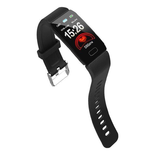 Q1 Smart Watch Спорт Фитнес-Браслет Трекер Сердечного Давления Браслет Артериального Давления IP67 Водонепроницаемый Ремешок Шагомер для Сотового телефона