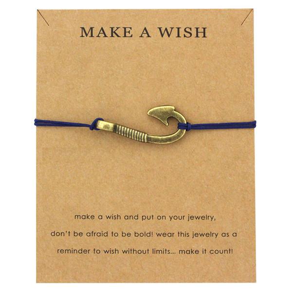 Make A Jewelry Silver Brass Arrow Sailing Fish Hook Rudder Seahorse Starfish Mermaid Seashells Charm Men Bracelet For Women