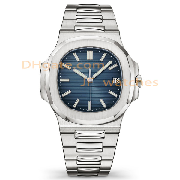 Luxury mens new automatic mechanical calendar 40 mm watch stainless steel mens luminous business diving waterproof 30M watch