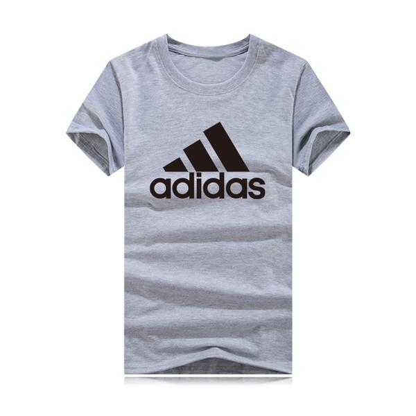 Nueva marca deportiva, logotipo pequeño, camiseta de manga corta, camiseta de manga corta para hombre, mujer, camiseta para hombre o cuello de verano, camisa de regalo para regalo