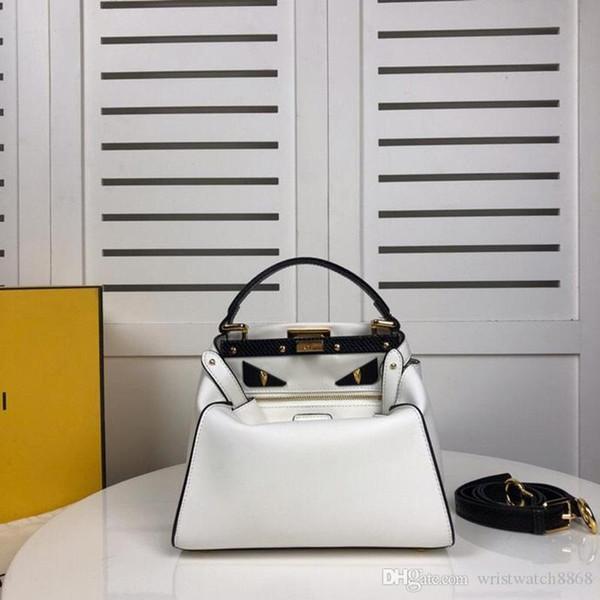 Bolsas de luxo de alta qualidade Bolsas de Grife de pele de carneiro macio original mulheres de couro genuíno sacos de ombro presentes de natal 1966 ro