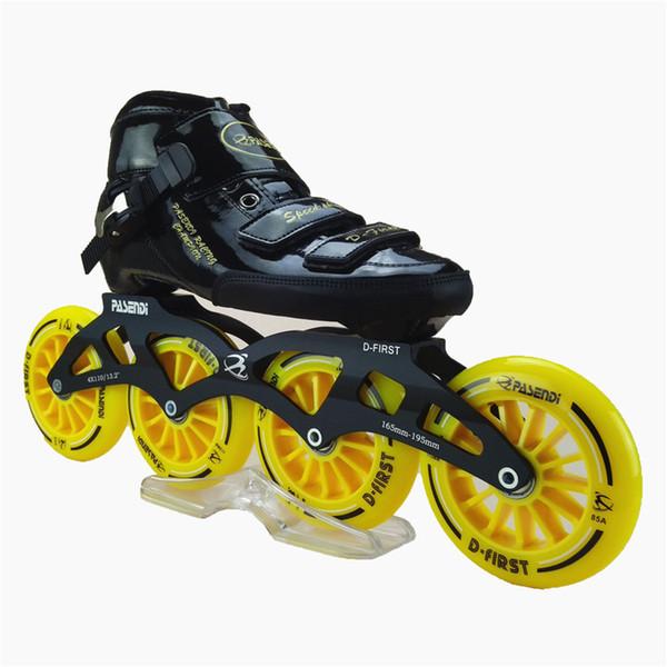 Inline hız paten ayakkabı Profesyonel çocuk inline paten pasendi yarış paten