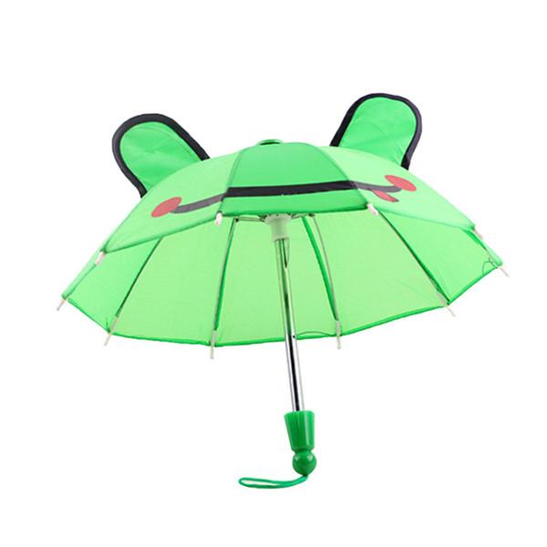 Hermosos accesorios de paraguas Niños Niñas Regalos adecuados para 18 pulgadas American Girl Doll JS22