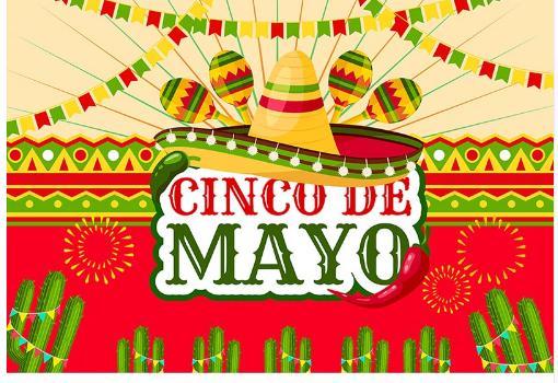 7x5FT мексиканский праздник Cinco De Mayo Fiesta Festival Кактус Флаги Пользовательские Фотостудия Фон Фон Винил 220 см х 150 см