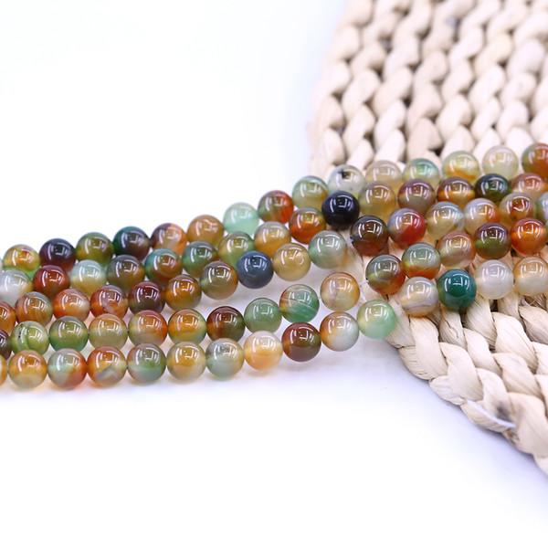 Paon Agate Perles Pour Bijoux Diy Naturel Pierre Perle Usine 15 pouce brin par ensemble Pour Bijoux Diy