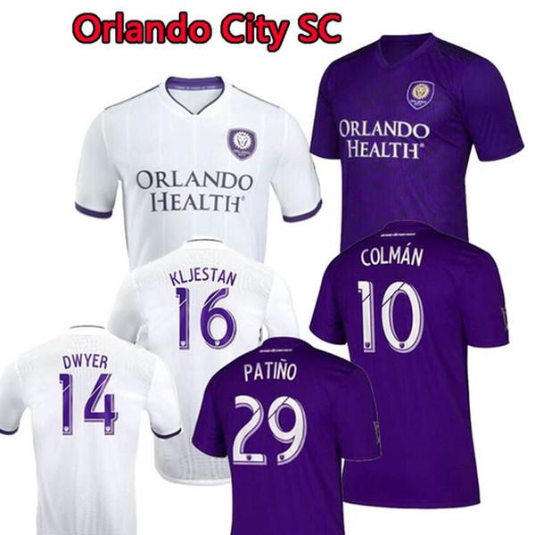 Maillot de football MLS Orlando City KAKA qualité thaïlandaise À DOMICILE lino DWYER COLMAN J. MENDEZ NANI MUELLER 2020 Sport à dom
