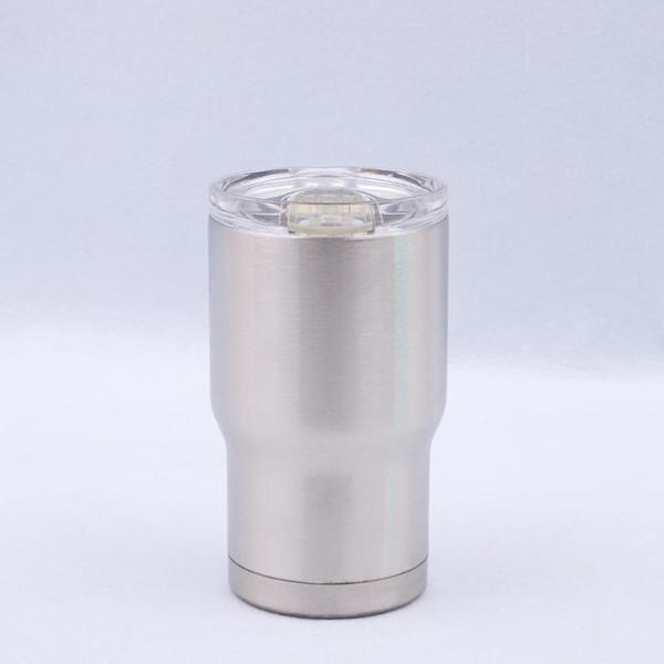 Tasses de voiture en acier inoxydable de tasses de bière de 14oz tasses de sport de double couche avec le couvercle de voiture tasses enfants tasses de lait en plein air bouteille CCA11767 25pcs