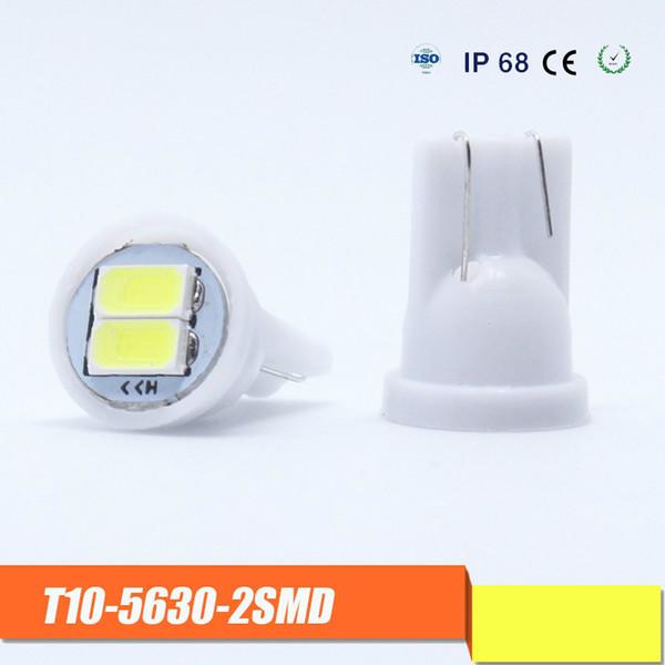 W5W LED Ampoule Super Brillant Économie D'énergie T10 Plaque D'immatriculation Lumière LED Voiture Ampoule Insertion Bulle Lampe de Lecture Large Lampe Haute Température