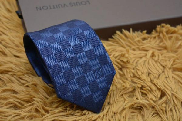New Fashionable men's tie high quality 100% silk tie 8cm jacquard pattern men's tie