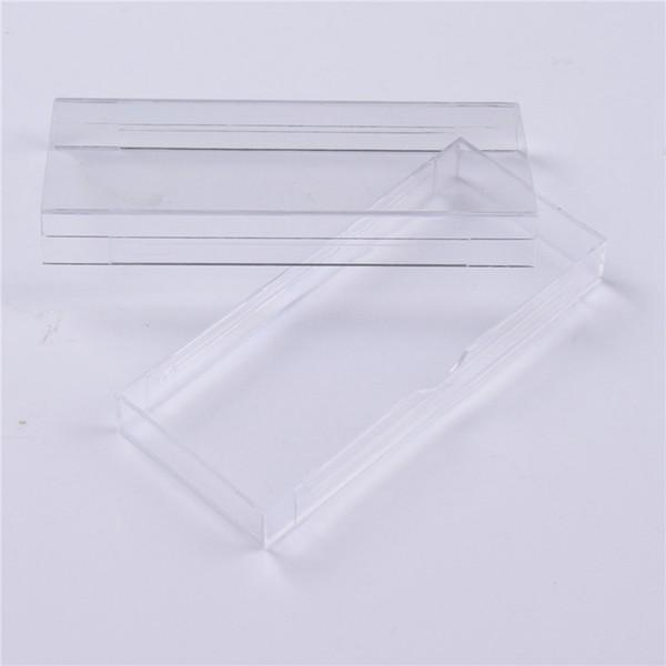 Acrylic Eyelashes Packing Box Slip Opening Drawer Design Eyelash Storage Box Cosmetic Eyelashes Empty Case Organizer RRA1261