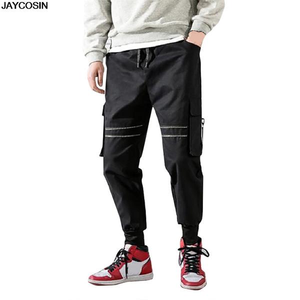 KLV Männer Hosen Mode Männer Casual Fashion Print Farbe im Freien Sport Overalls lange Hosen DIY für alle Jahreszeiten hohe Qualität 9518