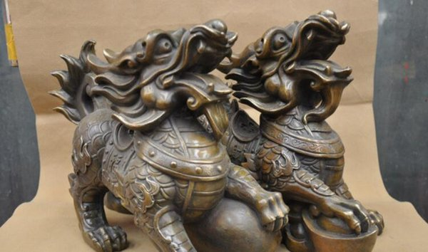 NEW +SSCY Signed pure Bronze Marble statue Art Hercules Weightlifting Sculptur