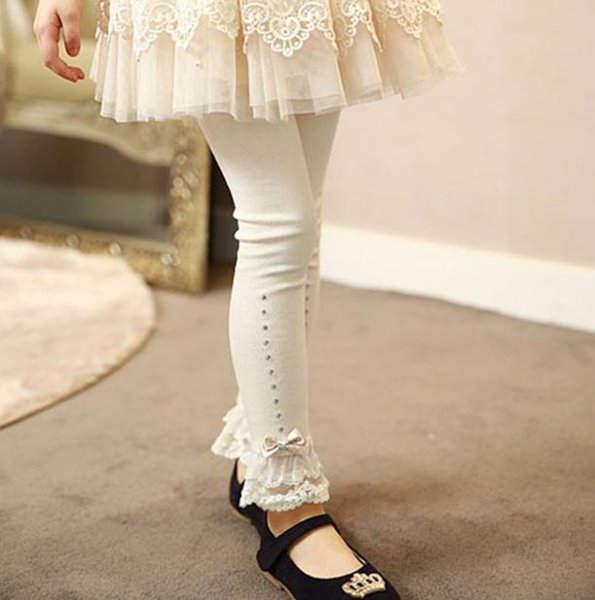 #2 lace bow princess trousers
