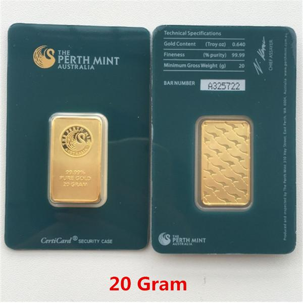 20 Gram Green Gold Bar