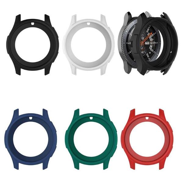 Funda protectora de silicona suave concha protectora para el Samsung Galaxy Watch 46mm Gear S3 Frontier