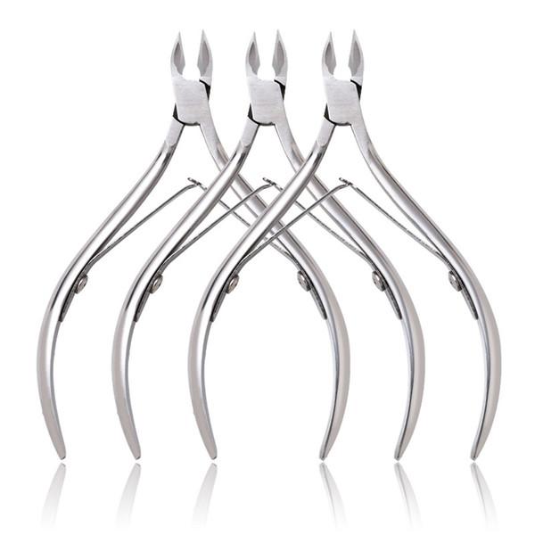 Tamax NA068 Nail Cuticle Nipper Dead Skin Remover Manicura Nail Art Tool Tijeras para cutículas de acero inoxidable Clipper