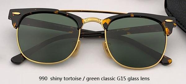 990 السلحفاة لامعة / الأخضر الكلاسيكي G15 لين