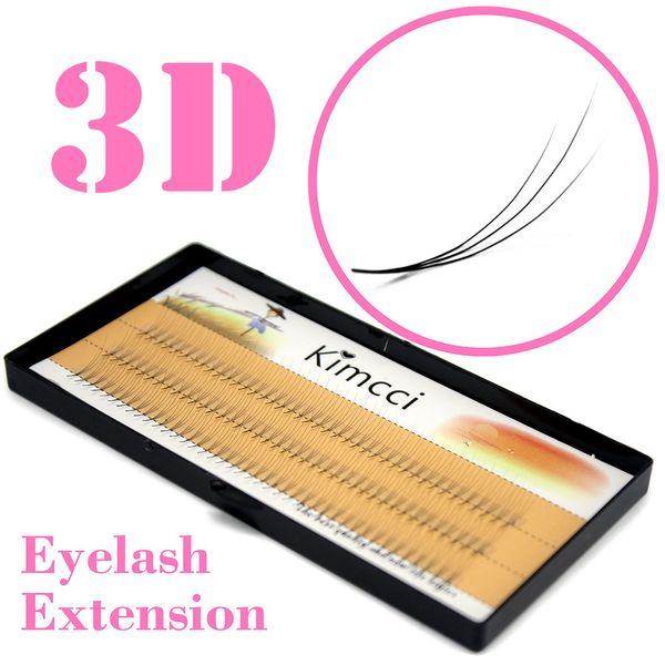 Natural 0.07c 3d Individual Cluster Eyelashes Extension Grafting Soft Eyelash Makeup Black False Eye Lashes Cilia