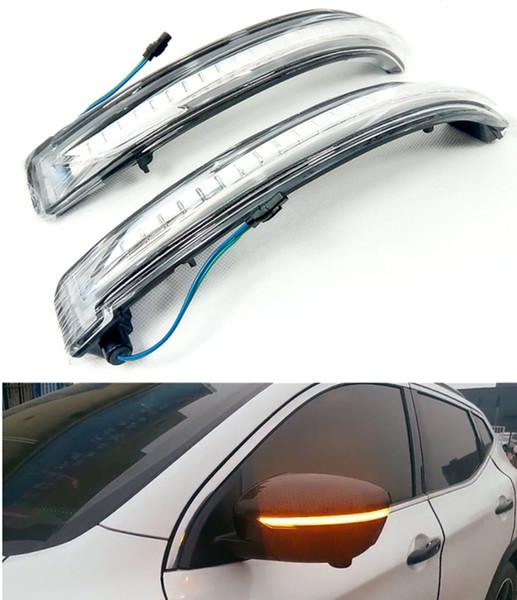 US Plug For Nissan X-trail Rogue Qashqai Murano NP300 Dynamic Turn Signal Light