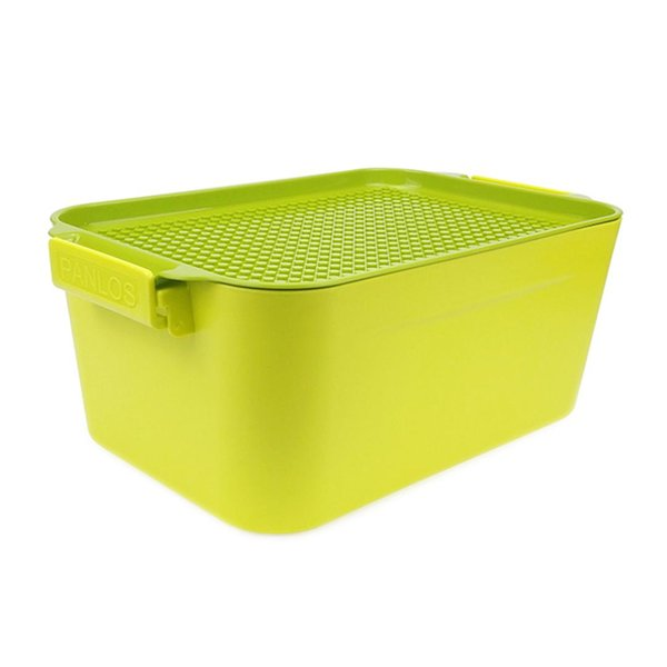 HIPSTEEN Children Multi-function Brick Storage Container Organizer Box Support Building Block Storage Case Home Items