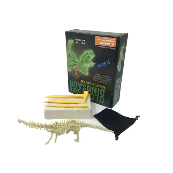 Digging Dinosaur Bone Kids Novelty Toy Archaeology Fossil Excavation Science Education Assembly Model Develop Children Intelligence Operatio
