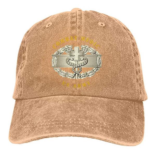 2019 neue Designer Baseball Caps Print Hat Combat Medic Abzeichen Mens Cotton Einstellbare Washed Twill Baseball Cap Hut