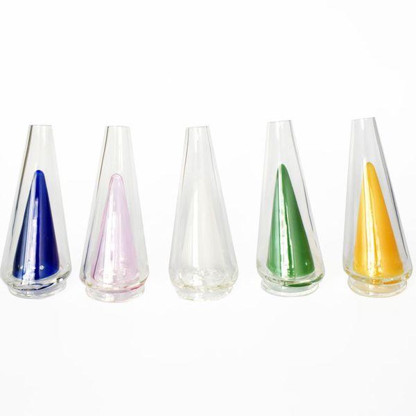 5 цветов Puffco Peak Замена мундштука насадки Glass Bong Электрическое масло Dab Rig Огромный испаритель Новейшая кварцевая бесшнуровая технология